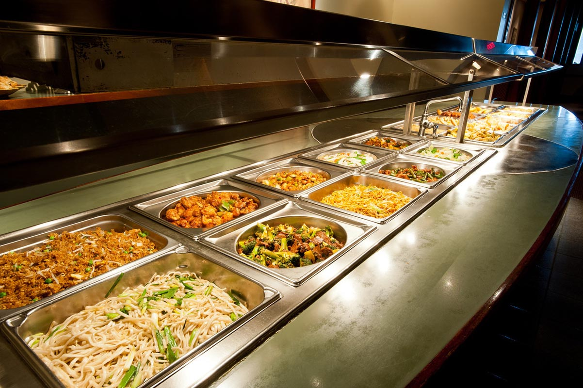 Northern culture for Asian cuisine buffet